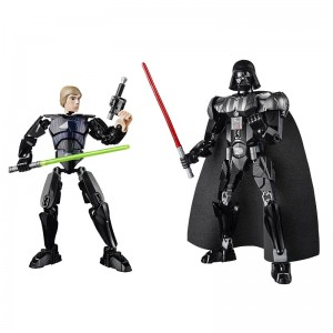 75110 75111 LEGO Star Wars Constraction Buildable Figures Luke Skywalker & Darth Vader - Toysnbricks