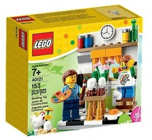 LEGO 40121 Painting Easter Eggs (2015 Easter Seasonal Set) - Toysnbricks