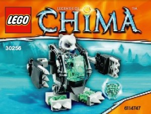 LEGO Chima Ice Bear Mech Polybag Set 30256 - Toysnbricks