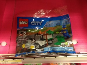 LEGO City 30313 Trash Man Truck Polybag Set