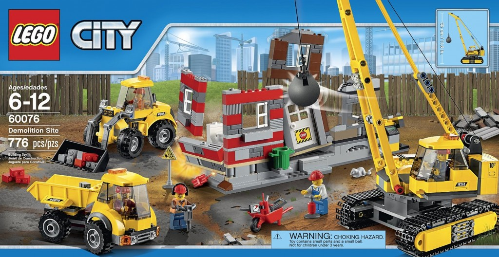 LEGO City 60076 Demolition Site - Toysnbricks