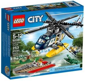 LEGO City Helicopter Pursuit 60067 - Toysnbricks