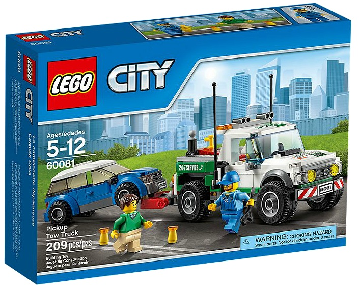 LEGO City Pickup Tow Truck 60081 - Toysnbricks