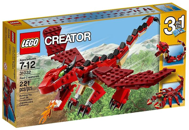 LEGO Creator 31032 Red Creatures - Toysnbricks
