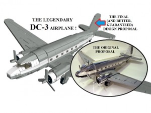 LEGO DC-3 Plane Potential LEGO Ideas Set
