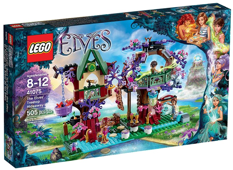 LEGO Elves The Elves' Treetop Hideaway 41075 - Toysnbricks
