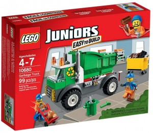 LEGO Juniors Garbage Truck 10680 - Toysnbricks