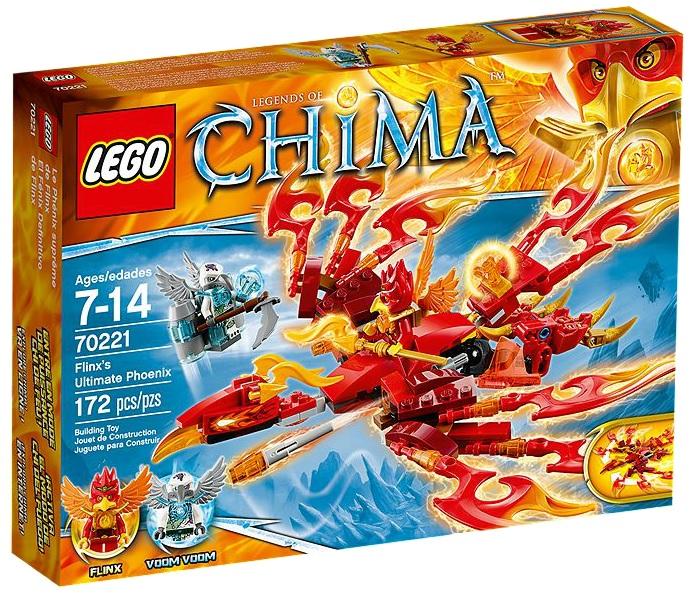 LEGO Legends of Chima 70221 Flinx's Ultimate Phoenix - Toysnbricks