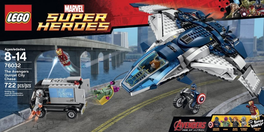 LEGO Marvel Super Heroes The Avengers Quinjet City Chase 76032 - Toysnbricks