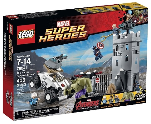 LEGO Marvel Super Heroes The Hydra Fortress Smash 76041 Age of Ultron - Toysnbricks