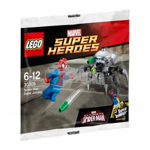 LEGO Marvel Super Heroes Ultimate Spider-Man Super Jumper 30305 Polybag Set - Toysnbricks