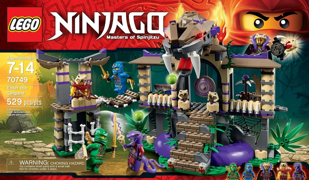 LEGO Ninjago 70749 Enter the Serpent - Toysnbricks