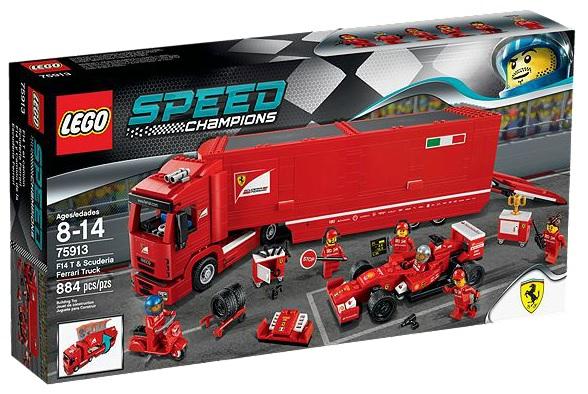 LEGO Speed Champions F14 T & Scuderia Ferrari Truck 75913 - Toysnbricks