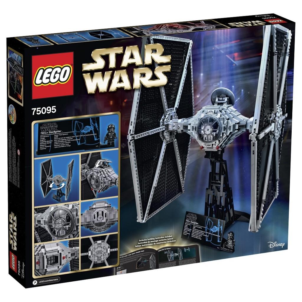 LEGO Star Wars 75095 TIE Fighter Back Box (High Resolution) - Toysnbricks