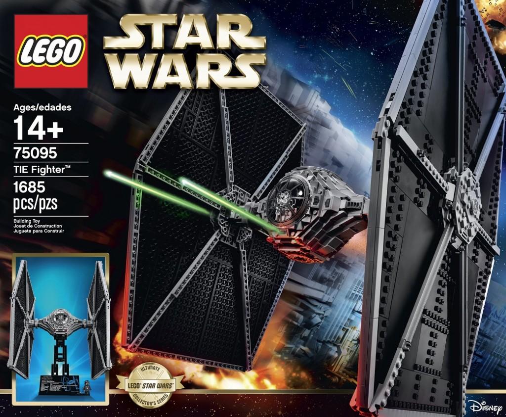 LEGO Star Wars 75095 TIE Fighter Front (High Resolution) - Toysnbricks