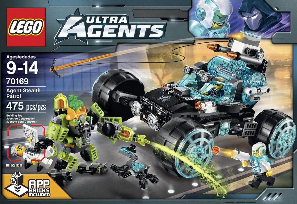 LEGO Ultra Agents 70169 Agent Stealth Patrol - Toysnbricks