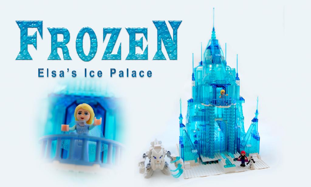 Potential LEGO Ideas Disney Princess Frozen Elsa's Ice Palace Set February 2015