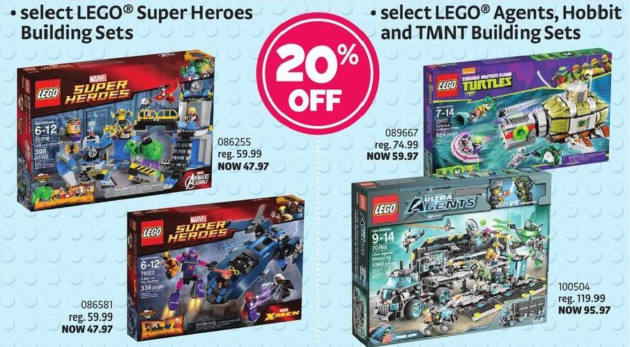 ToysRUs Canada February 2015 LEGO Sale