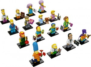 71009 LEGO Simpsons Series 2 Minifigures (Pre) 2015