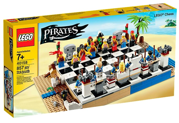 LEGO 40158 Chess Set Pirates 2015 - Toysnbricks