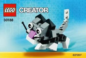 LEGO Creator 30188 Mini Cute Kitten Polybag Set - Toysnbricks
