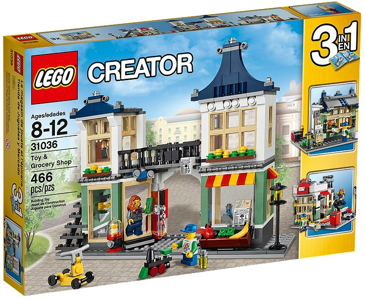 LEGO Creator Toy & Grocery Shop 31036 - Toysnbricks