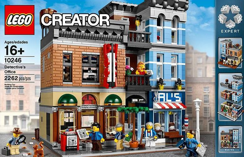 LEGO Detective's Office 10246 Creator Expert - Toysnbricks