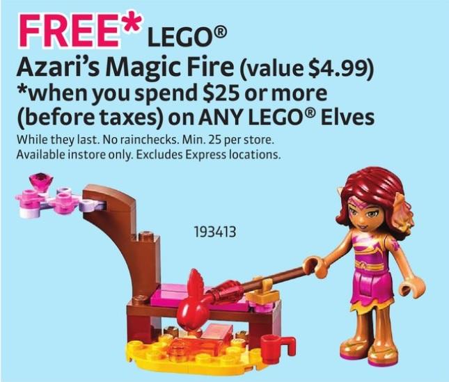 LEGO Elves 30259 Azari's Magic Fire Polybag Set - Toysnbricks