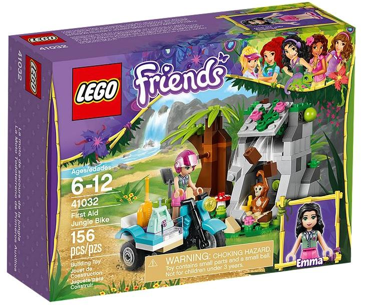 LEGO Friends 41032 First Aid Jungle Bike - Toysnbricks
