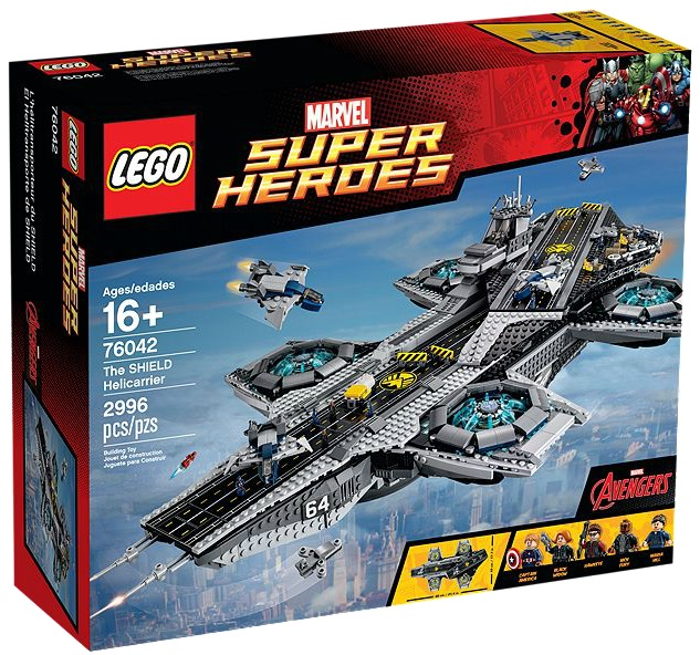 LEGO Marvel Super Heroes The SHIELD Helicarrier 76042 - Toysnbricks