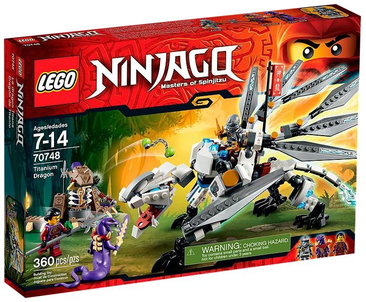 LEGO Ninjago 70748 Titanium Dragon - Toysnbricks