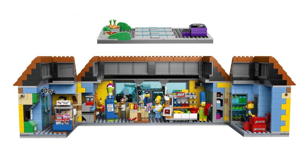 LEGO Simpsons 71016 The Kwik-E-Mart Interior (High Resolution) - Toysnbricks