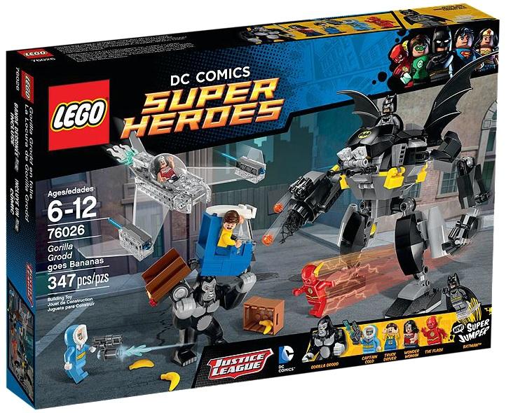 LEGO Super Heroes 76026 Gorilla Grodd goes Bananas - Toysnbricks