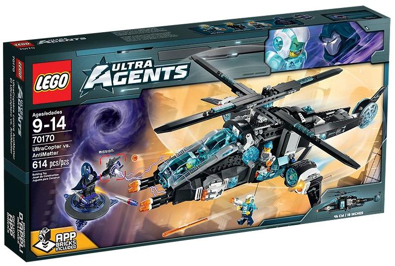 LEGO Ultra Agents UltraCopter vs. AntiMatter 70170 - Toysnbricks