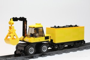 [MOC] LEGO Hi-Rail Excavator