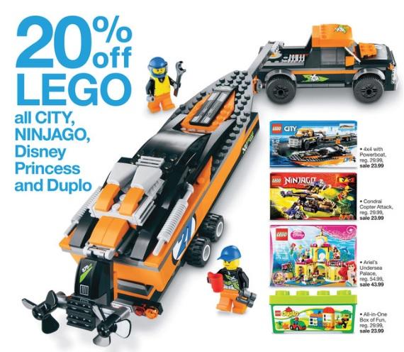Target LEGO Sale March 2015 - Toysnbricks