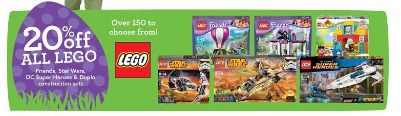 ToysRUs USA LEGO Sale March 2015