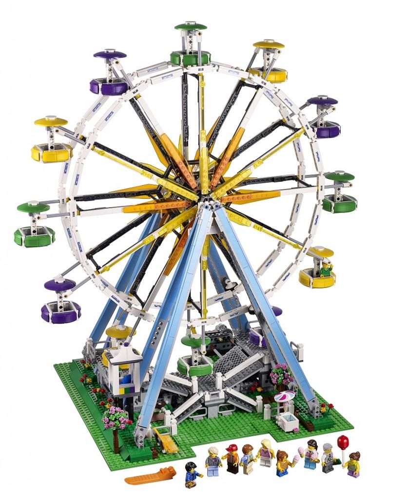 10247 Expert LEGO Ferris Wheel Creator Set High Resolution - Toysnbricks