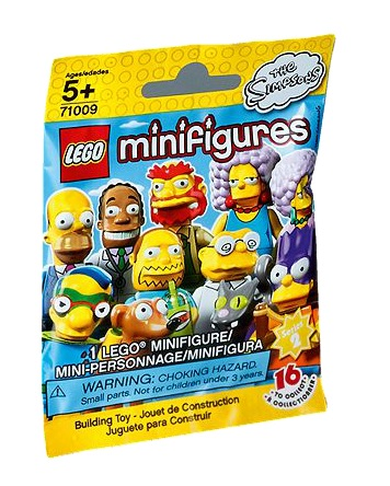 71009 LEGO Minifigures Simpsons Series 2 Packet - Toysnbricks