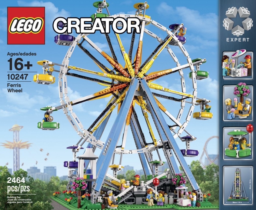 LEGO 10247 Ferris Wheel Creator Set - Toysnbricks