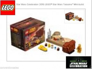 LEGO 2015 Star Wars Celebration Exclusive Set Anaheim (Tatooine Set)