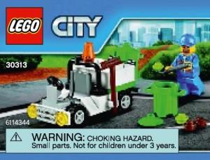 LEGO City 30313 Garbage Truck Polybag set - Toysnbricks