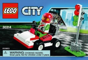 LEGO City 30314 Race Car Polybag Set 2015 - Toysnbricks