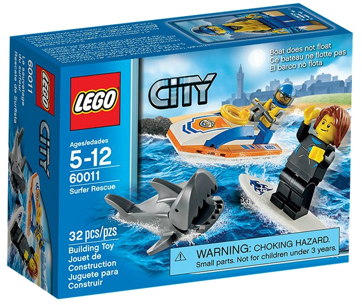 LEGO City 60011 Surfer Rescue - Toysnbricks