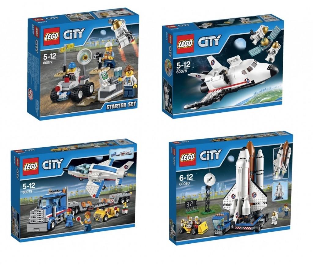 LEGO City Space Summer 2015 Sets 60077 60078 60079 60080 - Toysnbricks