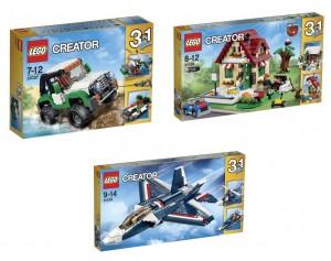 LEGO Creator 31037 31038 31039 Summer 2015 Box Images - Toysnbricks
