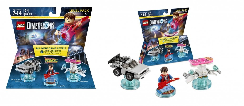 LEGO Dimensions 71201 Back to the Future Level Pack - Toysnbricks