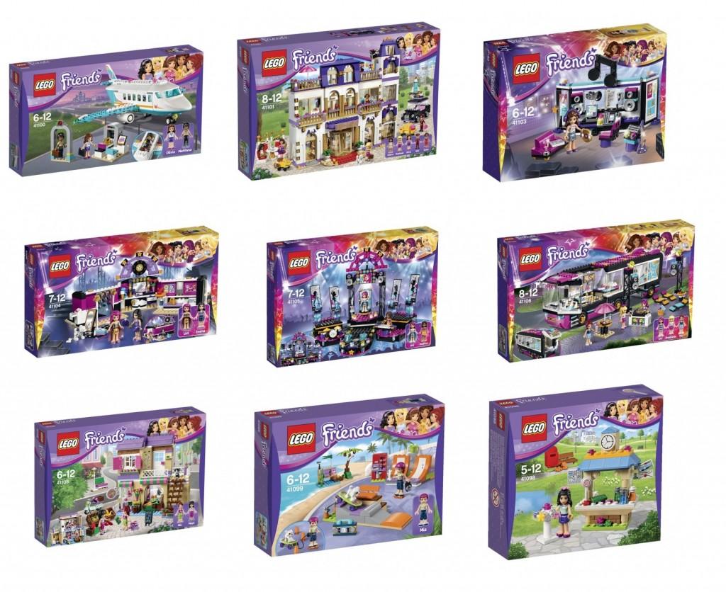 LEGO Friends 41098 41099 41100 41101 41103 41104 41105 41106 41108 Sets Summer 2015 - Toysnbricks