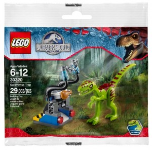 LEGO Jurassic World Gallimimus Trap 30320 Polybag Set