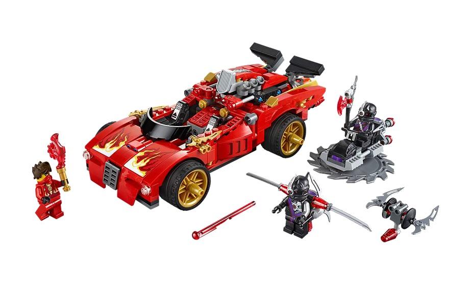 LEGO Ninjago X-1 Ninja Charger 70727 - Toysnbricks